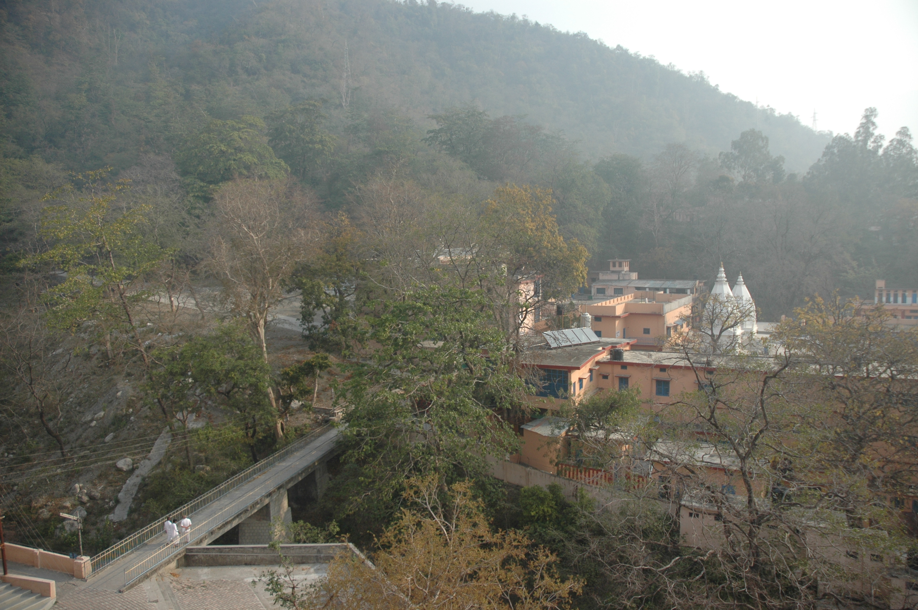 Ashram View from Auditorium