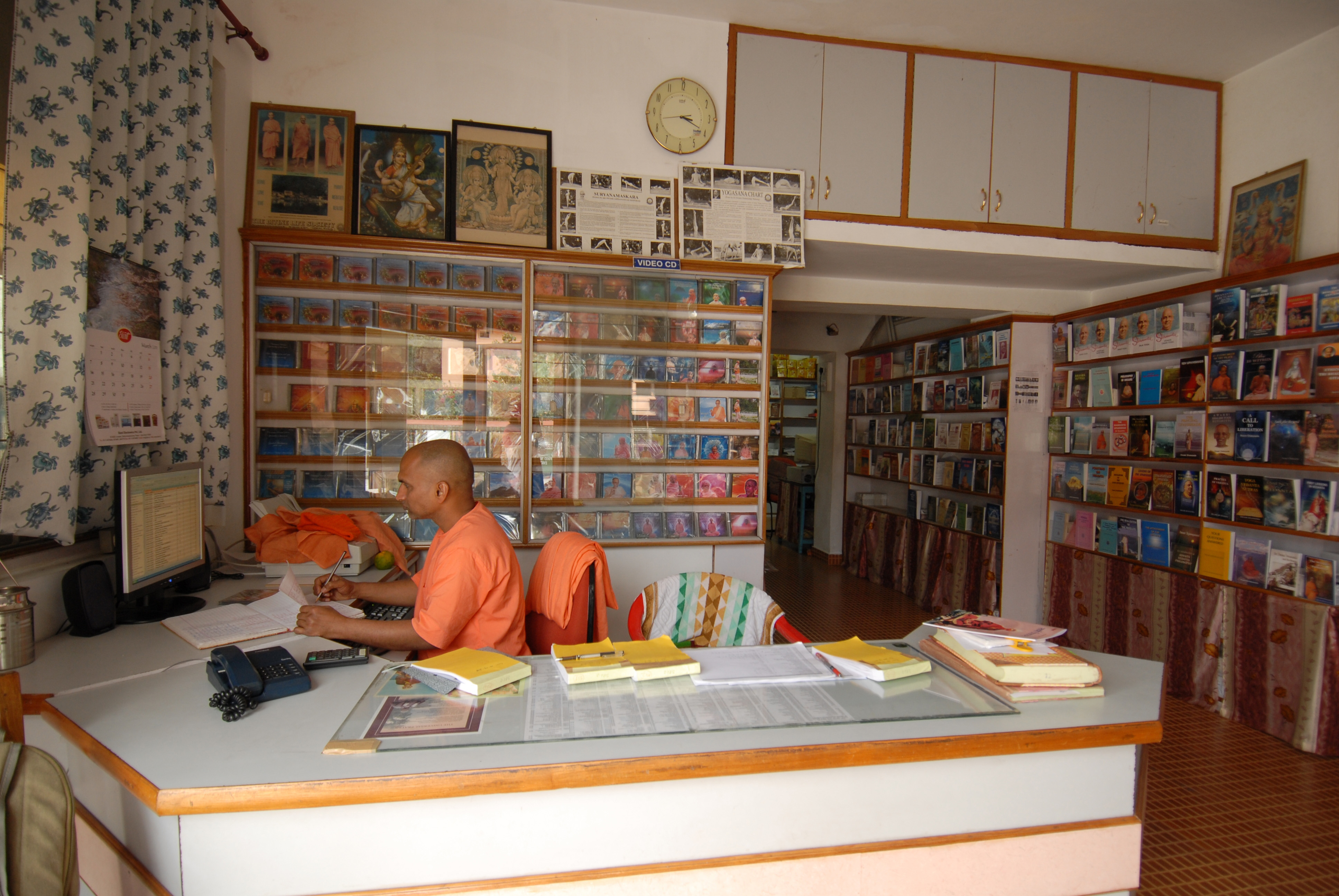 Sivananda Publication - Book Stall
