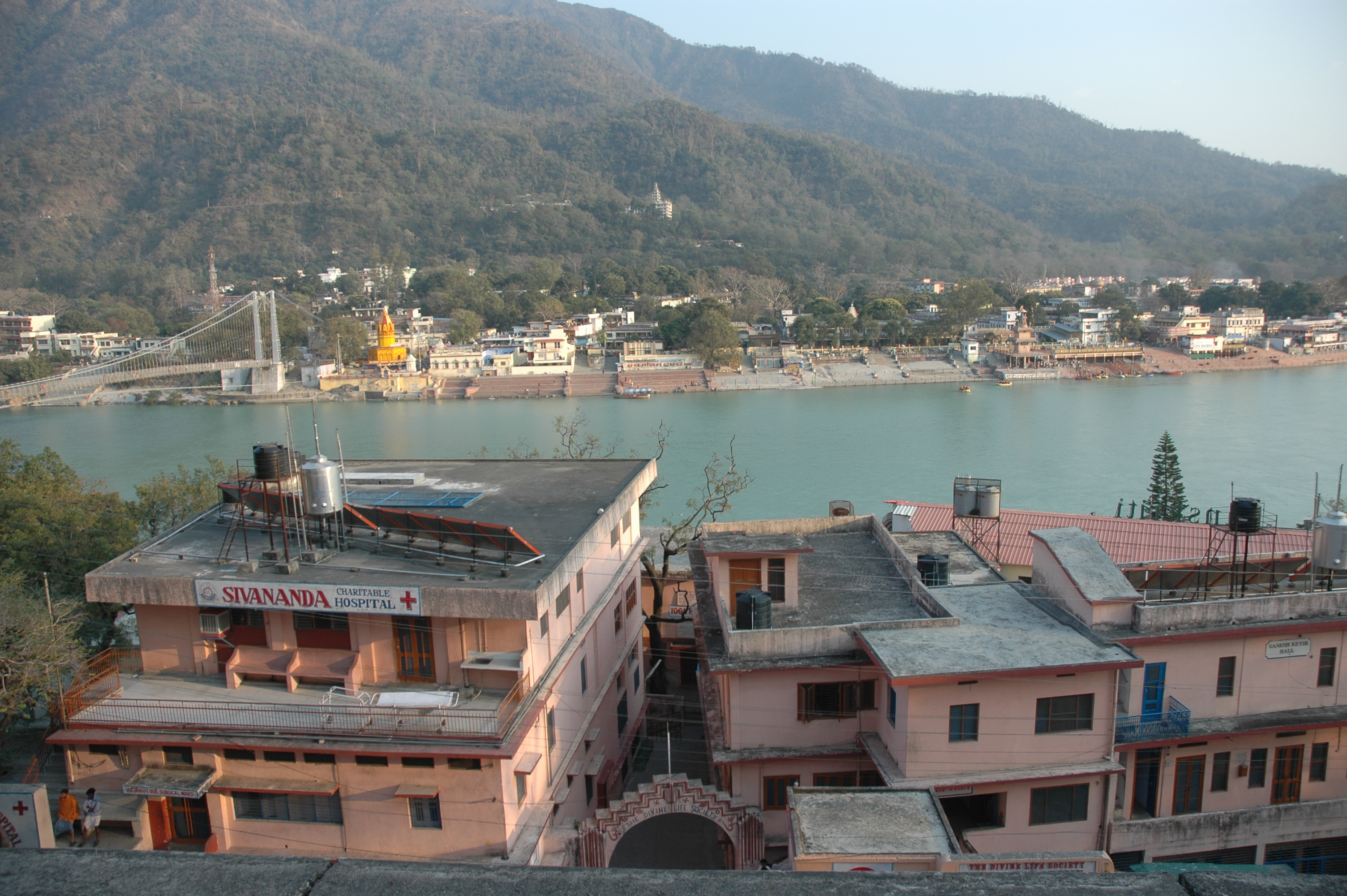 Ganges & Hospital Topview
